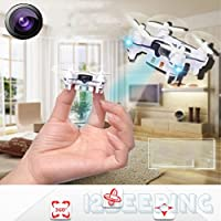 YJYdada 1506 2.4G 4CH 6-Axis Mini RC Quadcopter Small Drone Helicopter With 3.0MP Camera