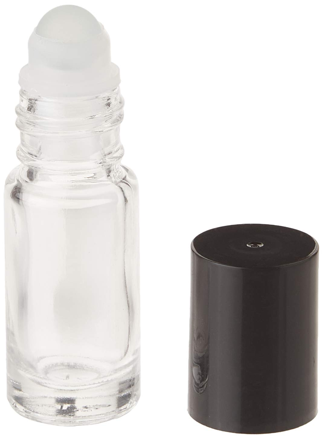 Premium Vials B18-144 Clear Roll-on with Cap Pack of 144 1//6 oz Capacity