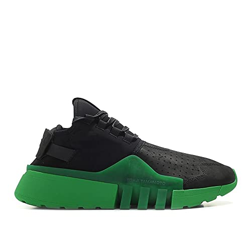 ecc3448951ff0 adidas Y-3 Men Ayero Black Green Black Olive Size 12.0 US  Amazon.co.uk   Shoes   Bags