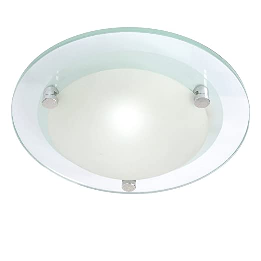 Litecraft 2 Pack Of Lacunaria Small Flush Bathroom Ceiling