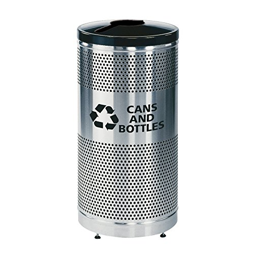 Rubbermaid Commercial Products Classics Series Recycling Receptacle with Lid (Can, 25-Gallon) ()