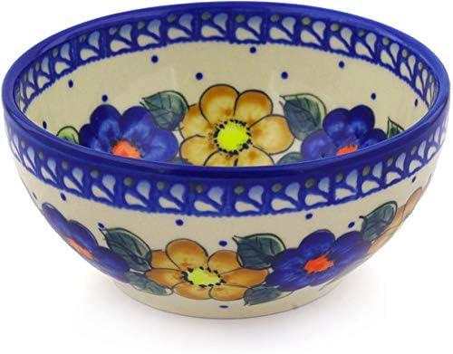 Amazon Com Polish Pottery 24 Oz Stoneware Bowl Kitchen Linens Kitchen Dining