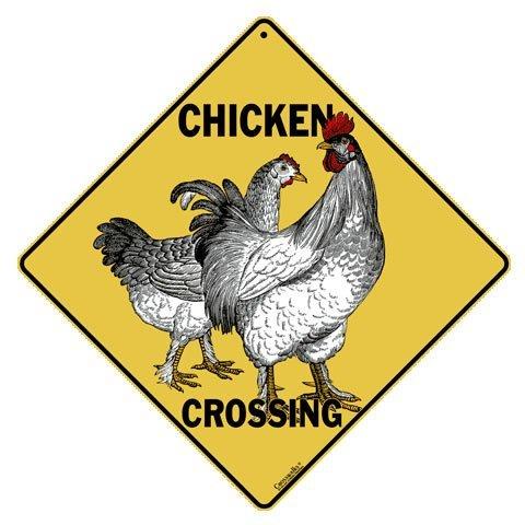 CROSSWALKS Chicken Crossing 12