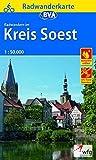 Radwanderkarte BVA Radwandern im Kreis Soest 1:50.000, reiß- und wetterfest, GPS-Tracks Download (Radwanderkarte 1:50.000)