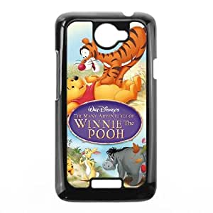 HTC One X Cell Phone Case Covers Black Many Adventures of Winnie the Pooh NCS