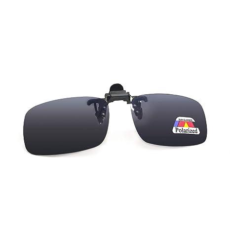 Zheino Large Mirror Coating - Gafas de sol con clip ...