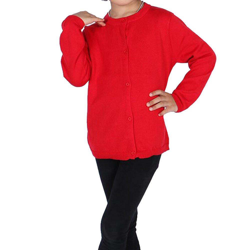 hibote Chaqueta de punto para beb/é infantil algod/ón manga larga chaqueta su/éter ni/ños punto c/árdigan