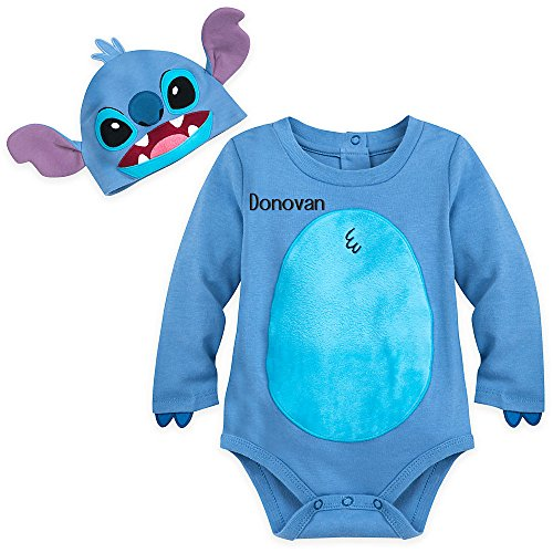 (Disney Stitch Costume Bodysuit Set for)