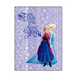 Japan Disney Official Frozen - Anna and Elsa the Best Sisters Book Style Purple Clear File Multi Layer Document Holder Double Sided Folder Wonderful Gift