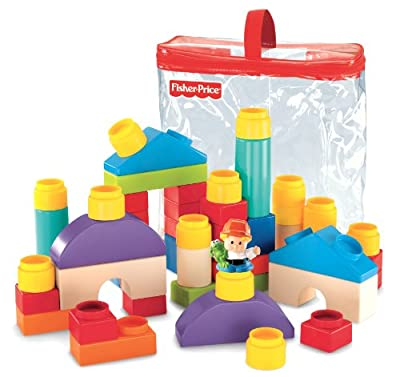 Fisher-price Little People Builders Classic Shapes Blocks by Fisher Price