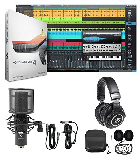 Presonus S14 XGRADE PRO Full Version of Studio One 4.0+Microphone+Headphones