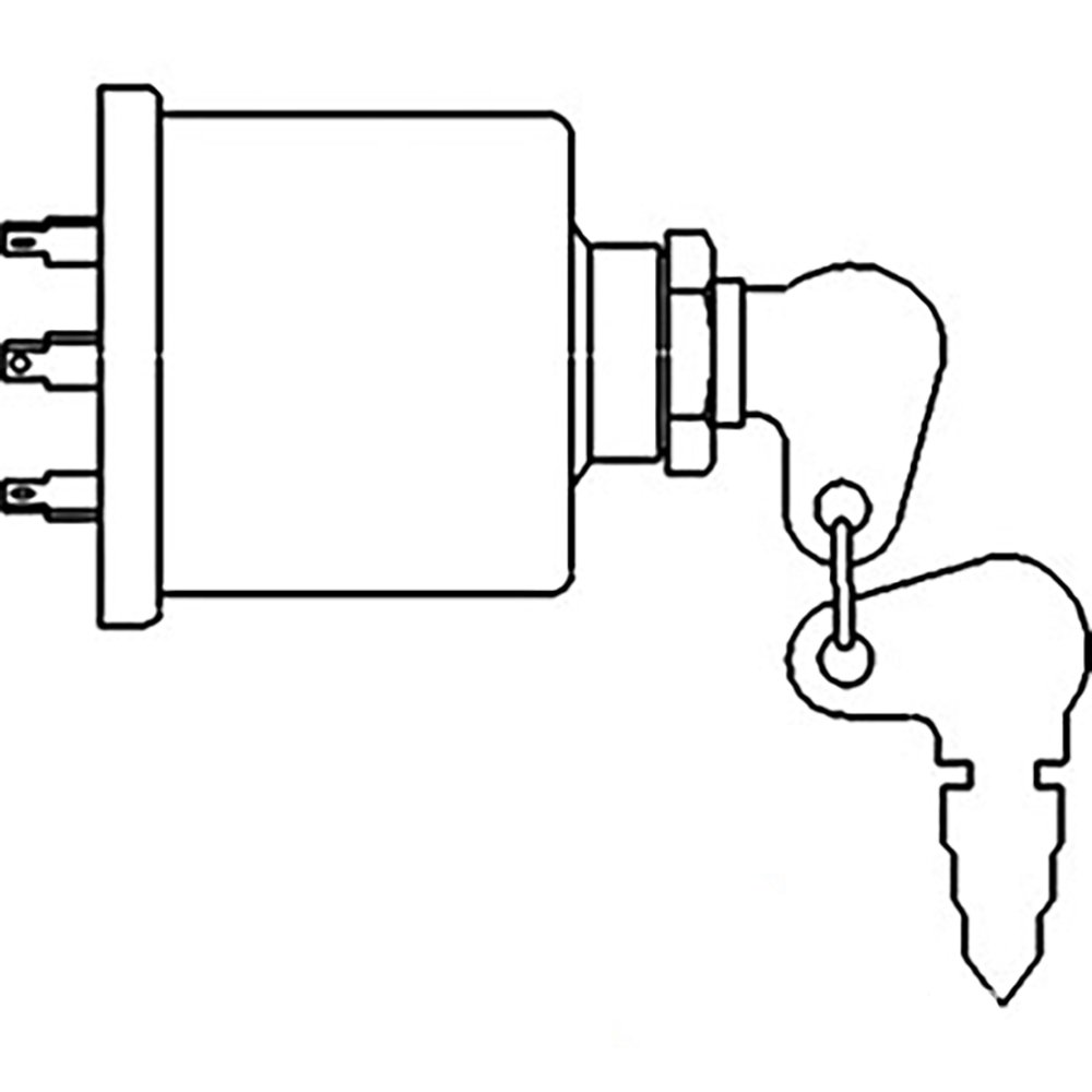 Amazon.com: 5146155 New Ford Fiat Tractor Ignition Starter ... on fiat 128 wiring, fiat 500 pop diagram, fiat 124 1978 engine diagram,