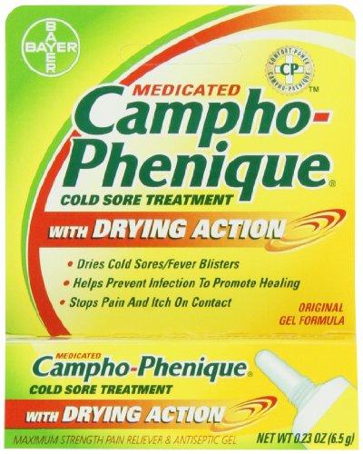 Traitement Cold Sore Campho-Phenique avec séchage action, 0,23 once