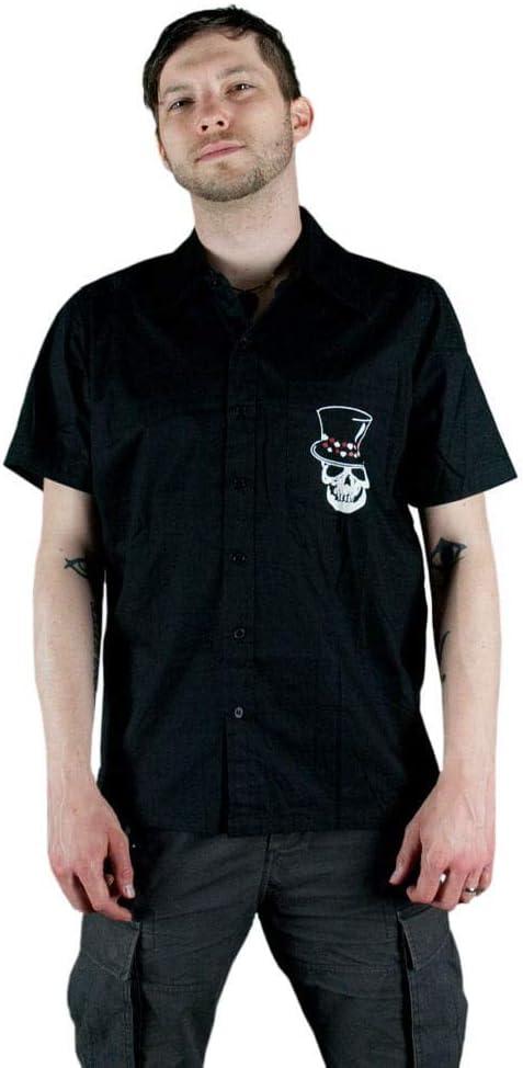 Horror-Shop Rockabilly Camisa de los hombres negro L: Amazon.es: Juguetes y juegos