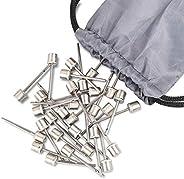 Ball Pump Needle, 60 Pcs Ball Pump Inflation Needles Air Inflation Needle Basketball Pump Needle for Basketbal