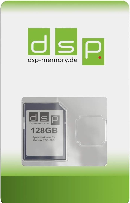 Dsp Memory 128gb Speicherkarte Für Canon Eos 80d Elektronik