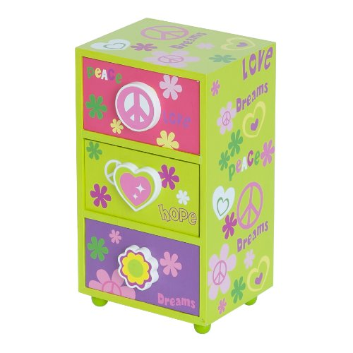 mele-co-daisy-girs-peace-and-love-jeery-box-5-by-4-by-9-inch-green