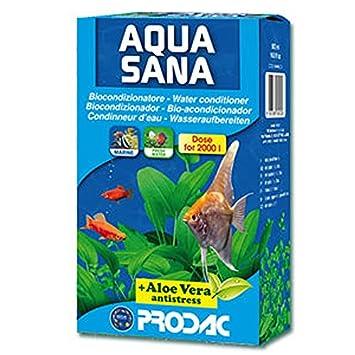 Aqua Sana Acondicionador de agua Acuario dechlorinator 500 mls: Amazon.es: Productos para mascotas