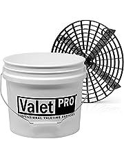 Details set - ValetPRO Wash Bucket 3,5 gal (ca. 12 l) waemmer by Grit Guard + GritGuard inzetstuk + deksel Gamma Seal deksel b + Grit