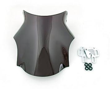Artudatech Windshield WindScreen Honda CB 250 400 600 750 900 919 1000 1300 1100SF Black