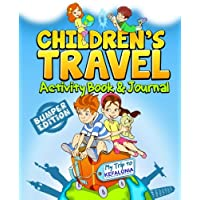Children's Travel Activity Book & Journal: My Trip to Kefalonia