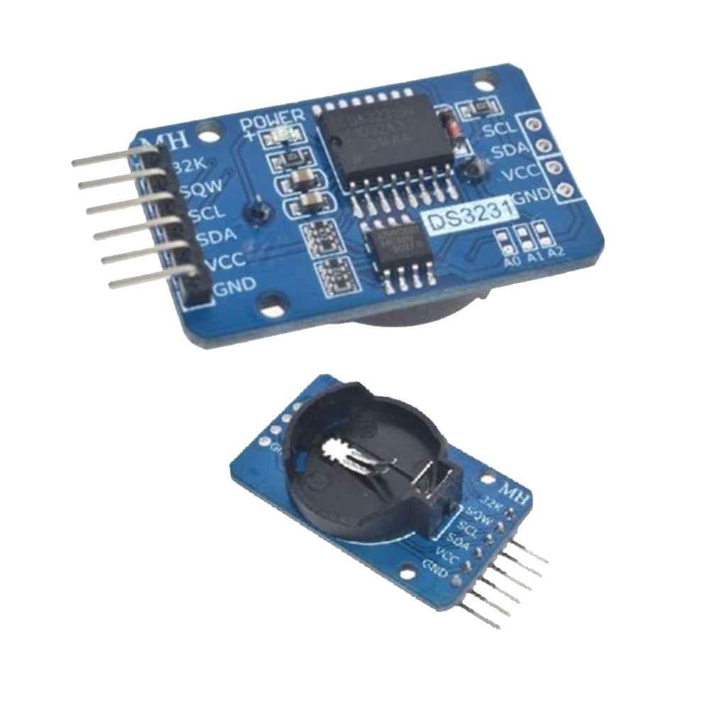 babysbreath17 pour Arduino DS3231 ZS042 AT24C32 IIC Module de pr/écision RTC Horloge en Temps r/éel M/émoire Nouveau