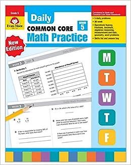 evan moor daily math practice grade 5 pdf