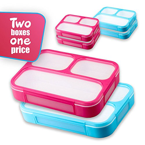 Leakproof Lunchboxes Containers Compartments Microwave product image