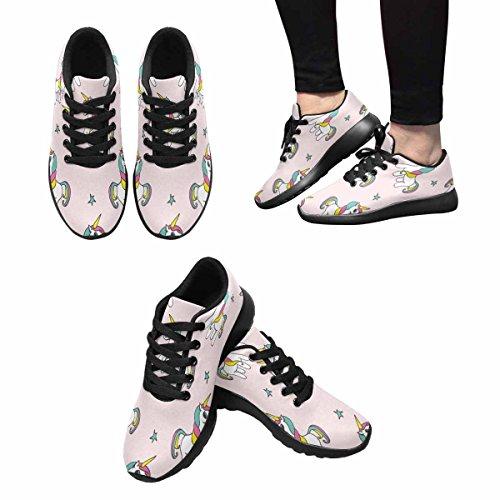 Interestprint Femmes Jogging Running Sneaker Léger Aller Facile Confort De Marche Sport Chaussures De Course Multi 8