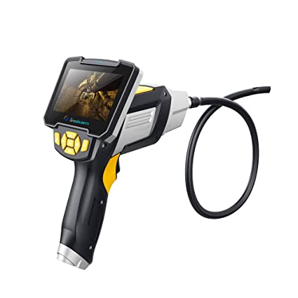 KKmoon 112 Endoscopios caseros industriales de endoscopios portátiles de pantalla de visualización de 4,3