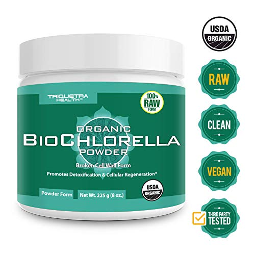 Organic Chlorella Powder Certifications Guaranteed product image