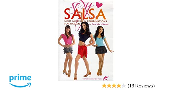 eb913d58dc0 Amazon.com  Sexy Salsa  Solo Moves for Beginners with Yesenia Adame  Salsa  dance instruction