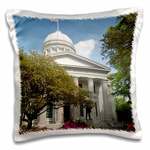 Danita Delimont - Virginia - Virginia, Norfolk. MacArthur Square - US47 CMI0029 - Cindy Miller Hopkins - 16x16 inch Pillow Case - Macarthur Norfolk