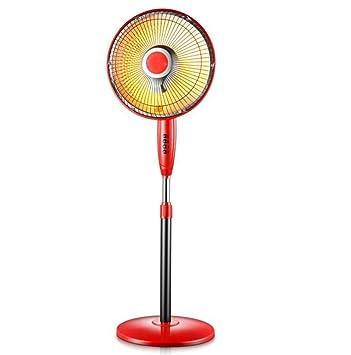 STEAM PANDA Calentador Calentador de calefacción de tubo de cuarzo Sol pequeño, Elevación vertical Sacudiendo su cabeza Ventilador eléctrico Silenciador ...
