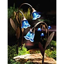 Blue Bell Solar Lawn Stakes - 3Pk By Collections Etc