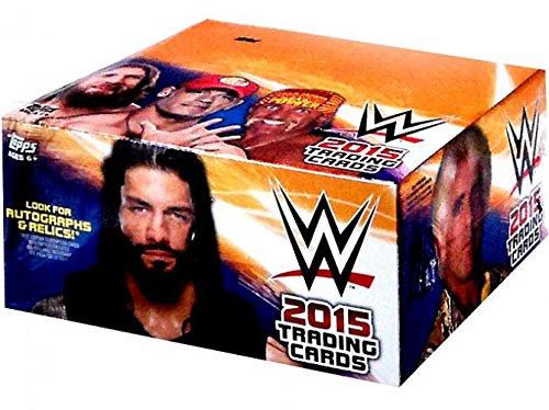 WWE Wrestling WWE 2015 Cartes à échanger Retail Box  -