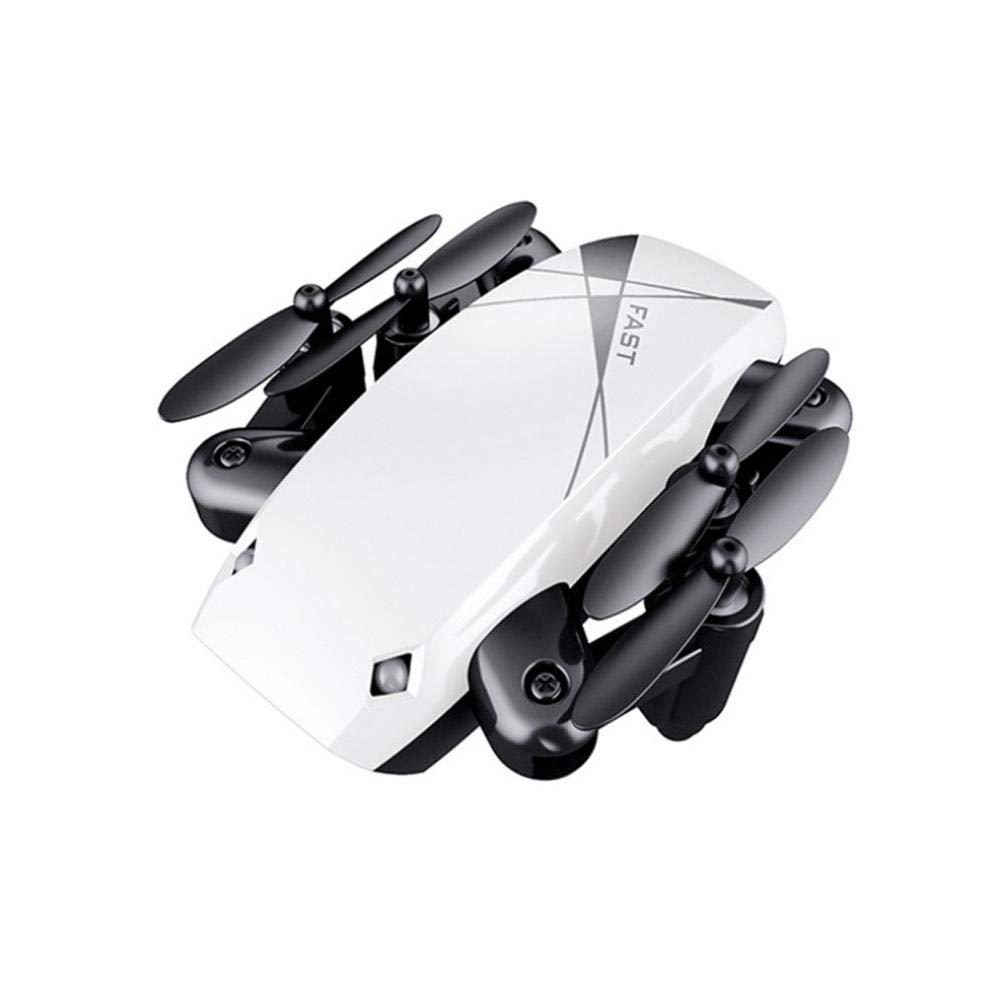 COREYCHEN S9 折り畳み式ミニドローン WiFi リモコン付き 航空機用コプター インテリジェント航空機ヘリコプター ドローン おもちゃ マジックリモートコントロール ヘリコプター 子供用 男の子 女の子 ミニドローン RC用, ホワイト, JZXCBSDCVD596 B07LC61L6S  ホワイト
