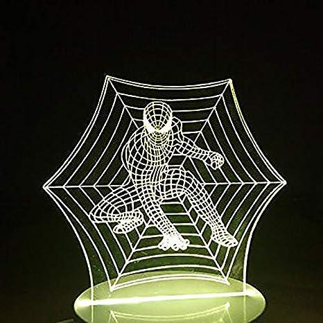 Amazon.com: SHUII - Luz nocturna 3D para decoración del ...