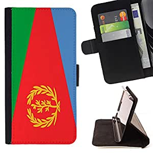 - Flag - - Premium PU Leather Wallet Case with Card Slots, Cash Compartment and Detachable Wrist Strap FOR Samsung Galaxy S5 V SM-G900 G9009 G9008V King case