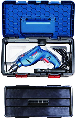 Bosch Freedom Kit GSB 550-Watt Impact Drill Kit (Blue, 91-Pieces) product image