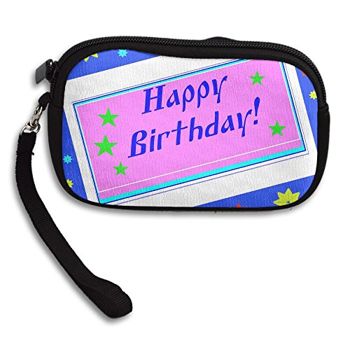 Hand-held Belt Zipper Small Wallet Congratulation Birthday P