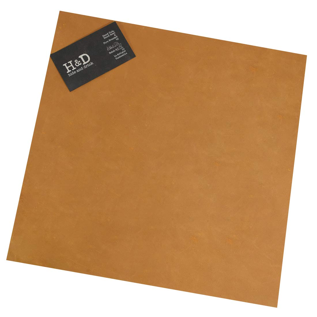 12 x 12 in. Heavy Weight Thick Leather Square by Hide /& Drink :: Old Tobacco for Crafts//Tooling//Hobby Workshop 3.5mm