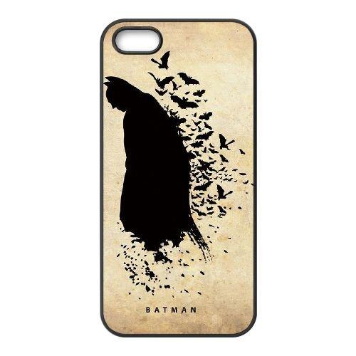 Batman coque iPhone 4 4S Housse téléphone Noir de couverture de cas coque EBDOBCKCO10166
