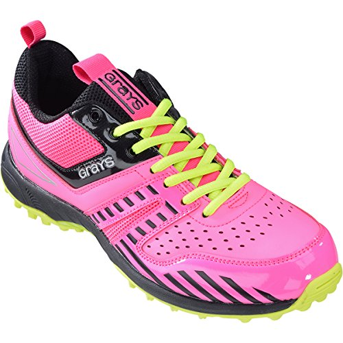 Gris G5000 Chaussures De Hockey - Pink/Lime