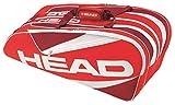 HEAD Elite Supercombi 9 Racquet Bag - Red/White