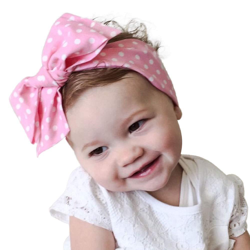Haarbands Sasstaids Wellen Punkt Baby Mä Dchen Stirnband