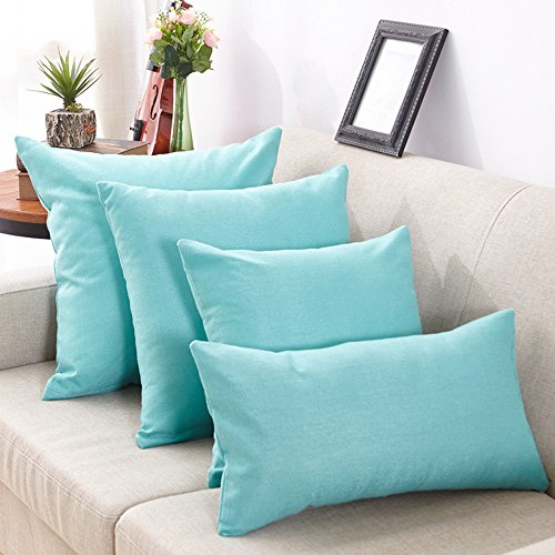 AOJIAN Home Decor Decorative Solid Cushion Cover Pillow Protectors Bolster Pillow Case Pillowslip,Throw Pillow Covers