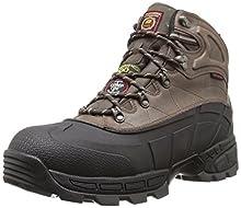 Skechers for Work Men's Radford Boot,Black/Brown,11 M US