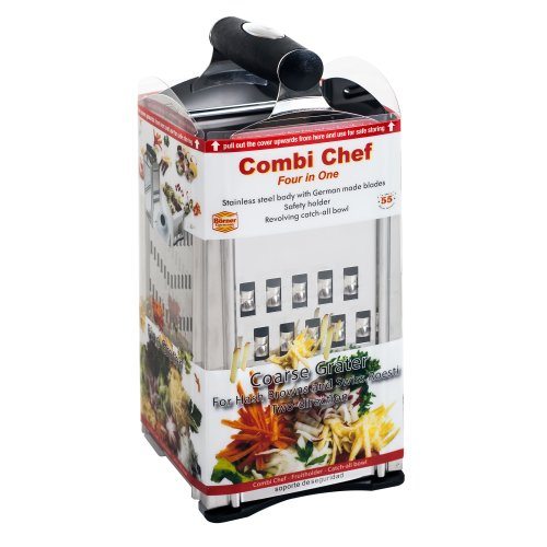 Borner Combi Chef Stainless Steel 4 In 1 Food Slicer And