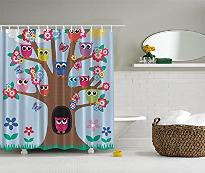 Owls Shower Curtain